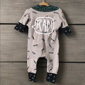 Rags to Raches Bottoms - RAGS 3-6 mo RAD Skateboard